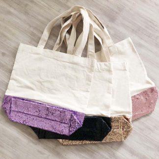 Glitter Tote Bags