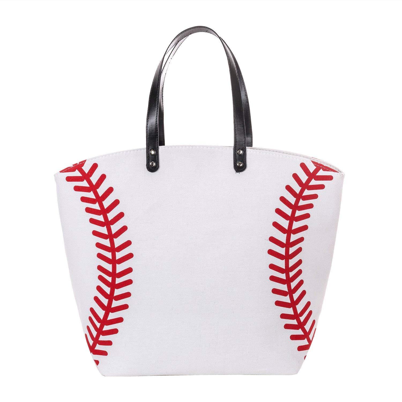 SMALL BASEBALL Open Tote bag