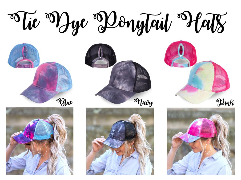 Tie Dye Hat **HTV**